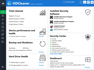HDCleaner Crack 1.322 With Download {Win/Mac} 2021