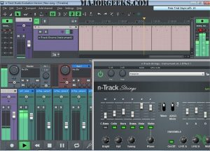 N-Track Studio Crack 9.1.0 Build 3636 For Keygen Full Version 2020