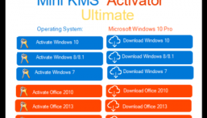 Mini KMS Activator Ultimate Crack 2.3 For Windows Free Version 2021