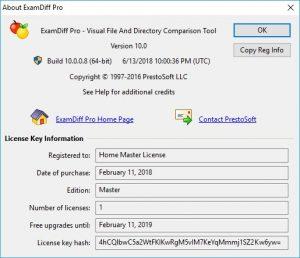Examdiff Pro 11.0.1.5 With Crack + License Key 2020 Free Download