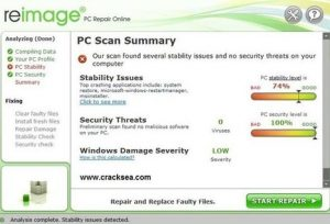 Reimage PC Repair 2020 Crack + Working Keys Free Download